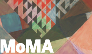 MOMA: Geometric Exhibit Poster - Central Connecticut State University Graphic Design