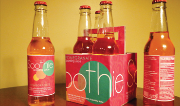 Soothie: Sparkling Juice - Central Connecticut State University Graphic Design